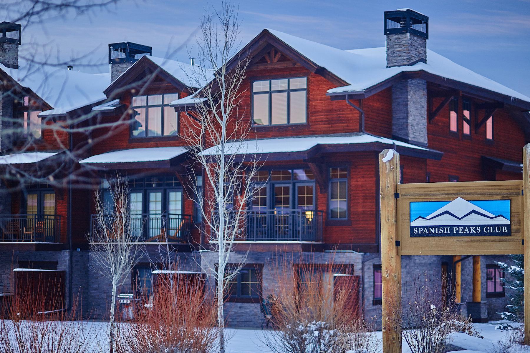 Condominio per Vendita alle ore Spanish Peaks Club Condo 2500 Little Coyote Road Unit 19 Big Sky, Montana 59716 Stati Uniti