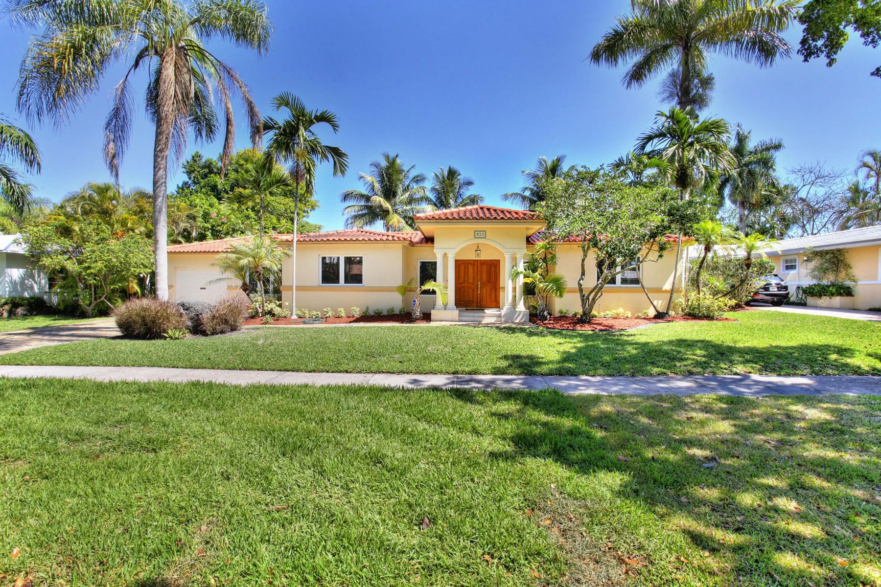 Casa para uma família para Venda às 433 Bargello Ave Coral Gables, Florida 33146 Estados Unidos