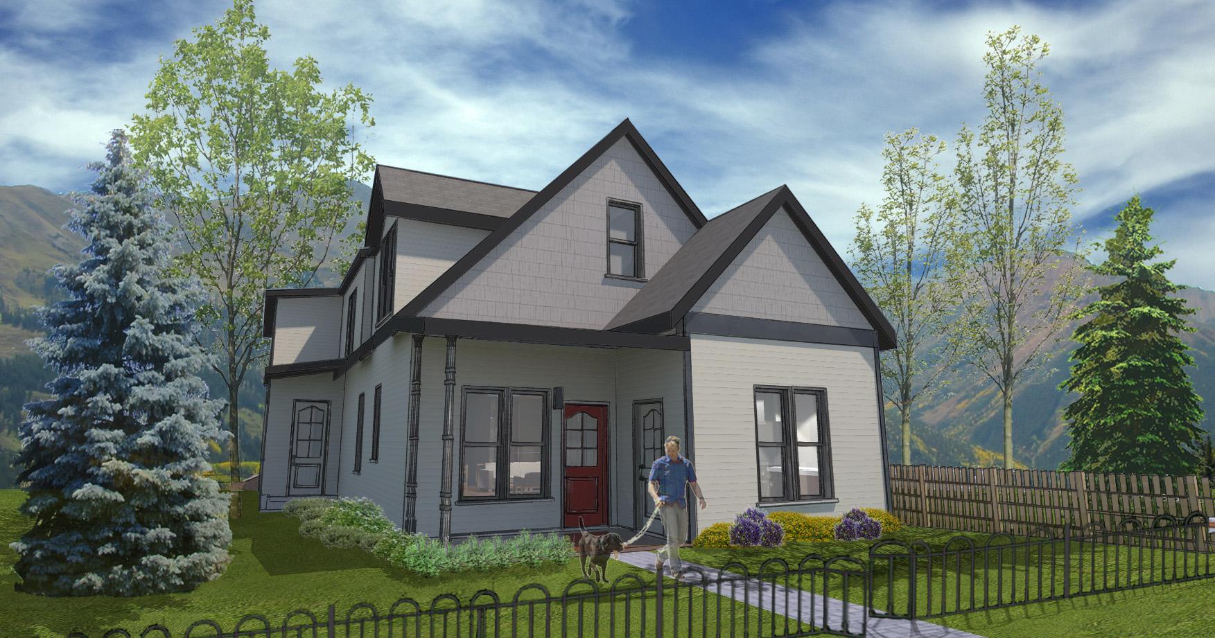 Tek Ailelik Ev için Satış at Contemporary West End Retreat 712 West Francis Street West End, Aspen, Colorado 81611 Amerika Birleşik Devletleri