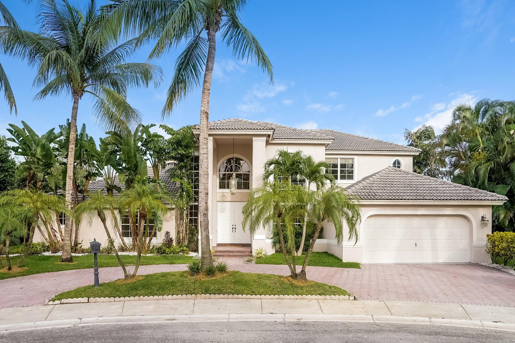 단독 가정 주택 용 매매 에 3288 Huntington Weston, 플로리다 33332 미국