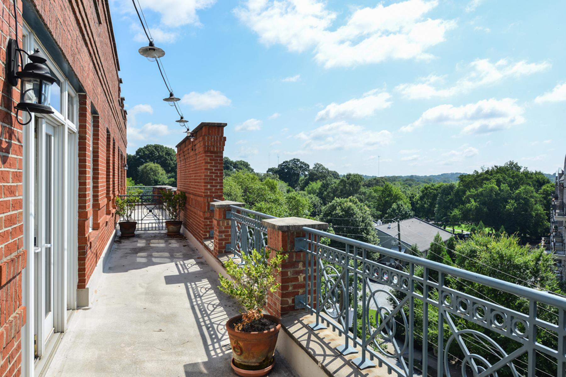 Кооперативная квартира для того Продажа на Lofts At The Park II 1058 Piedmont Avenue #405 Midtown, Atlanta, Джорджия 30309 Соединенные Штаты