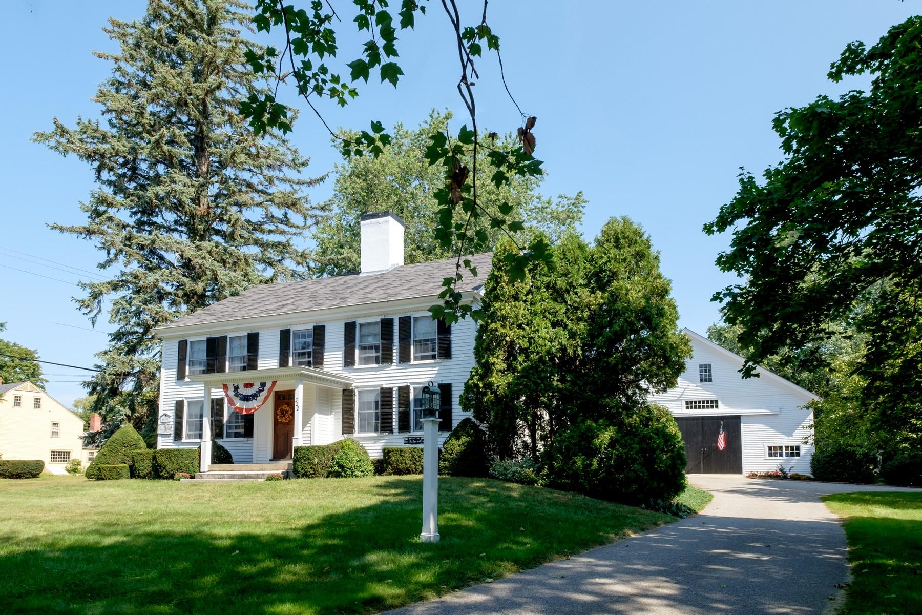 Single Family Home for Sale at Historic John Moulton Homestead Circa 1650 222 Winnacunnet Road Hampton, New Hampshire, 03842 United States