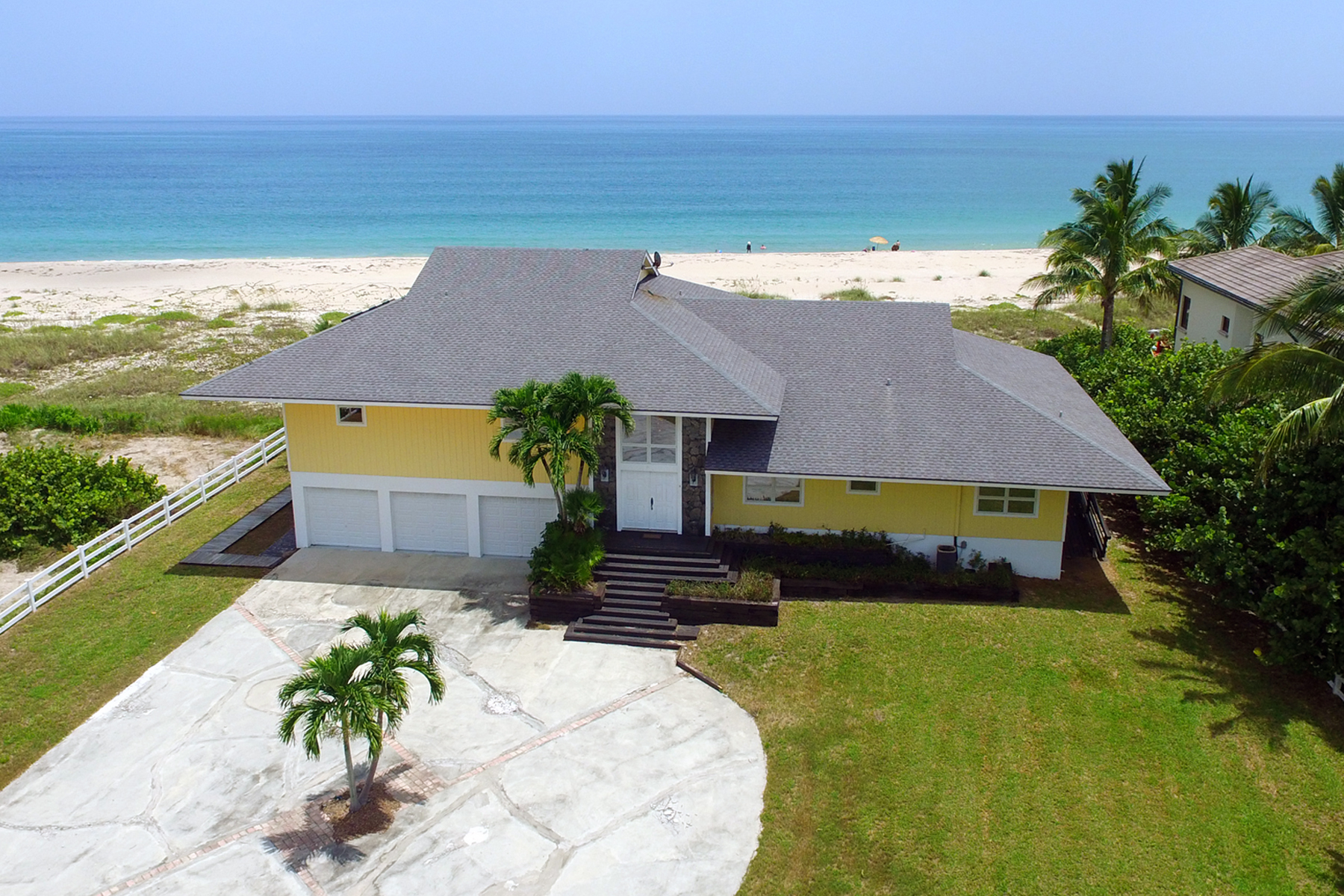 Single Family Home for Sale at Sunswept Beach Estate 6740 N A1A Fort Pierce, Florida 34949 United States