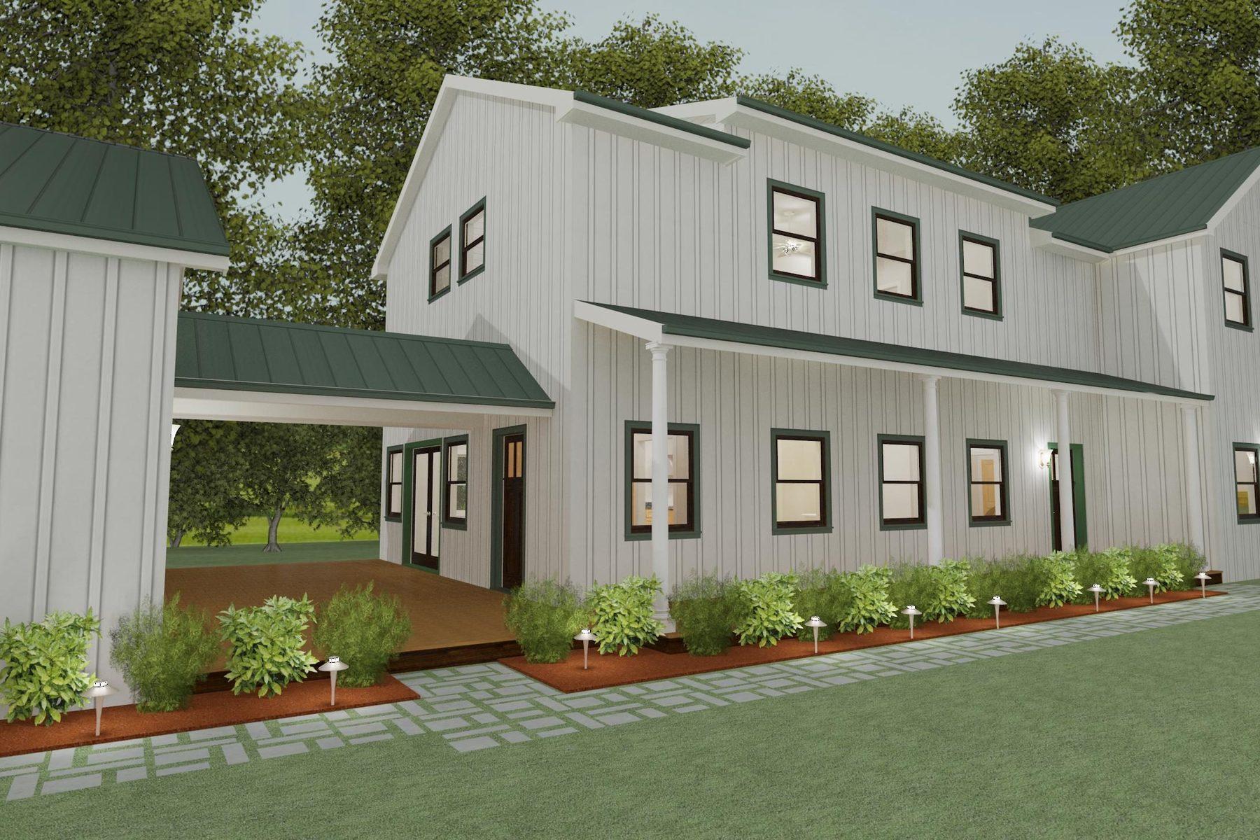 Maison unifamiliale pour l Vente à Inspired By Massachusetts Farmhouse 1517 Woodland Ave Salt Lake City, Utah 84106 États-Unis