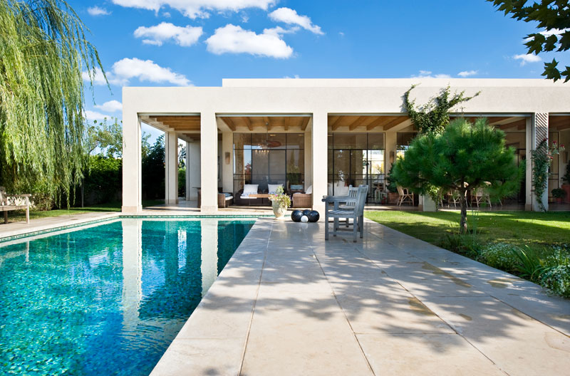 Moradia para Venda às Marvelous Contemporary Villa near the Golf Course Caesarea, Israel 3088900 Israel