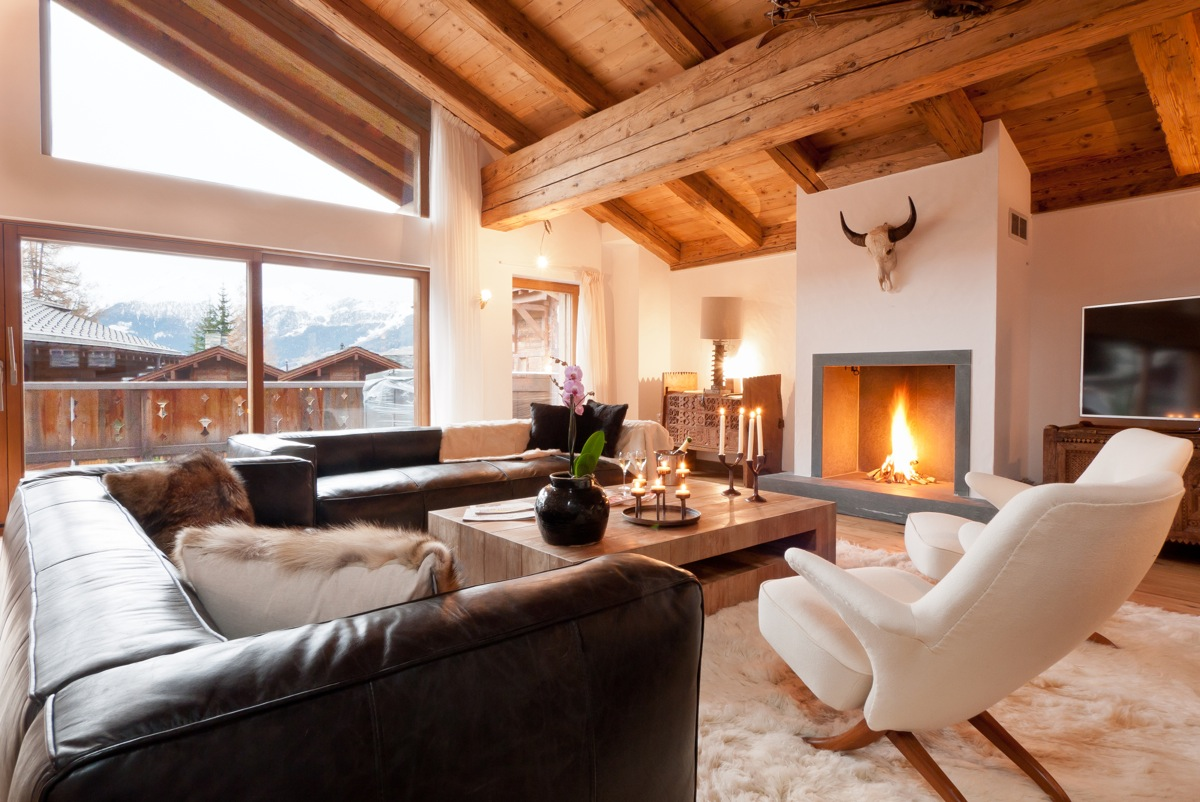 Single Family Home for Sale at New-build old-timber chalet In the very heart of Verbier Verbier, Valais 1936 Switzerland