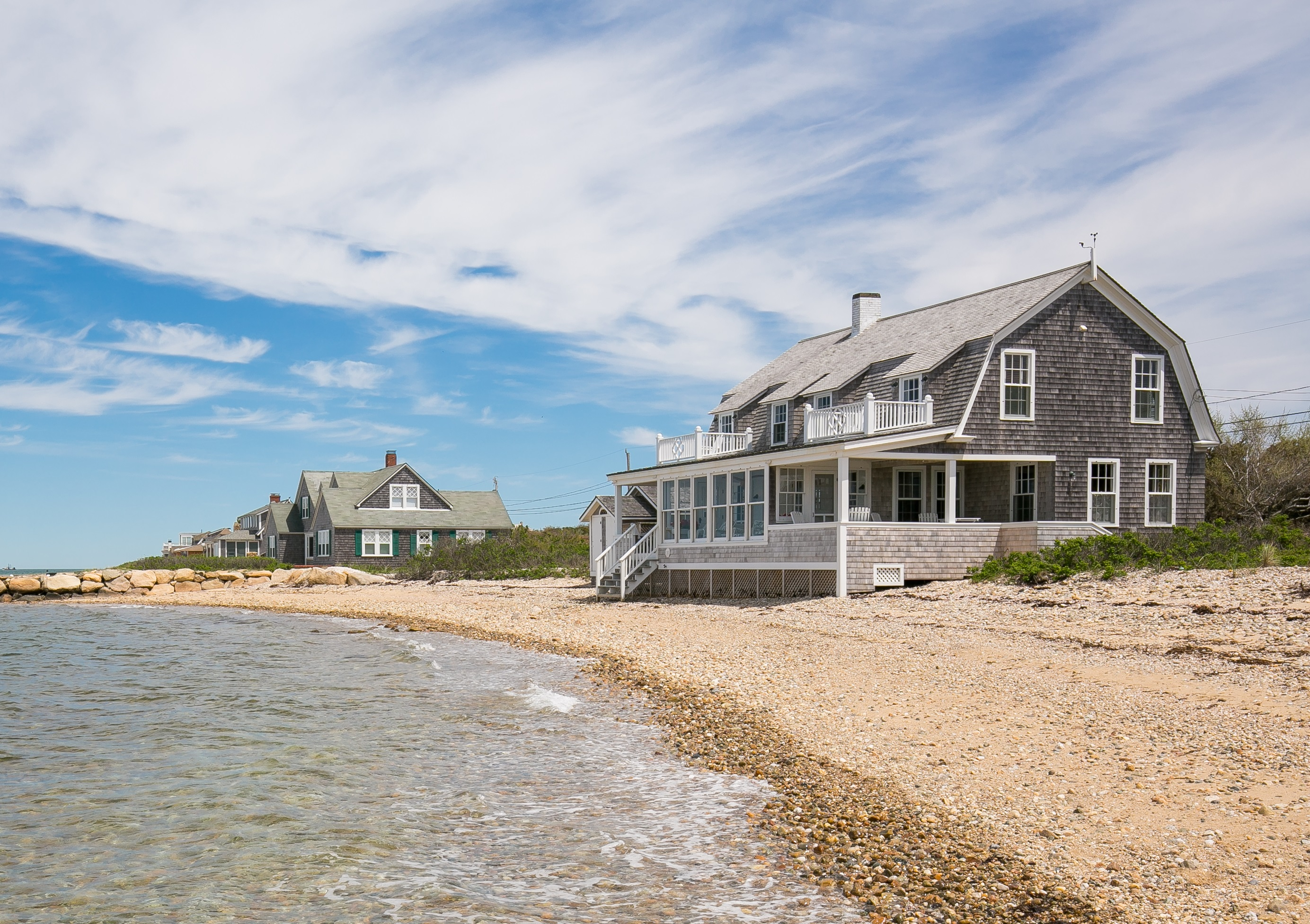 Moradia para Venda às Waterfront East Chop Beach House 325 East Chop Drive Oak Bluffs, Massachusetts, 02557 Estados Unidos