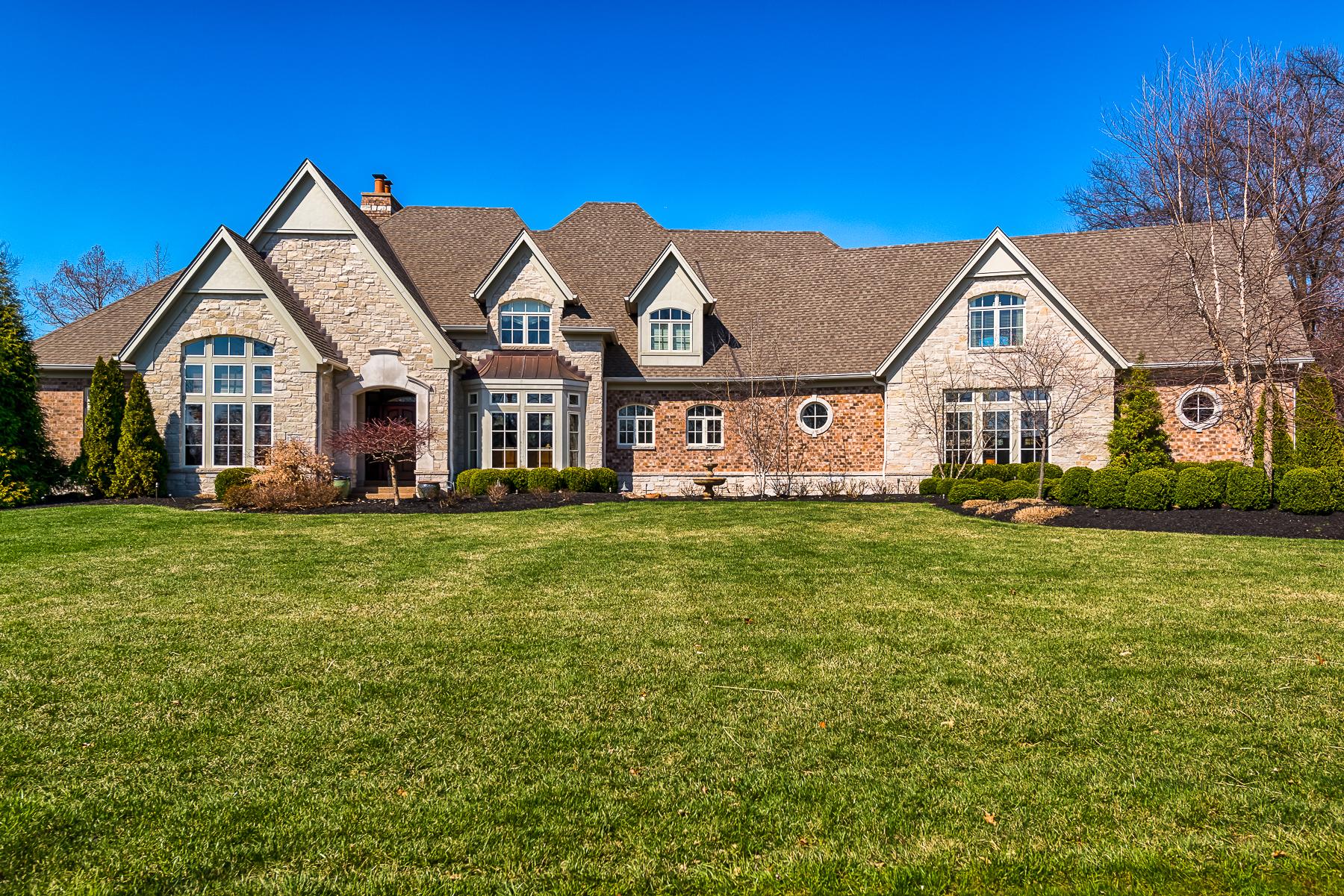 Tek Ailelik Ev için Satış at English Manor Luxury Home 12921 Timmor Ct St. Louis, Missouri 63131 Amerika Birleşik Devletleri
