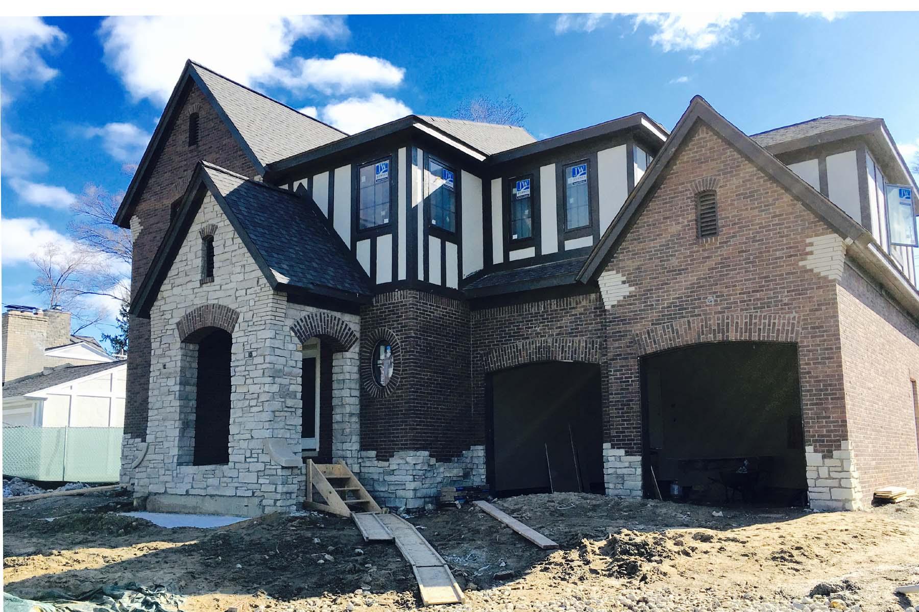 Single Family Home for Sale at Birmingham 1575 Shipman Birmingham, Michigan, 48009 United States