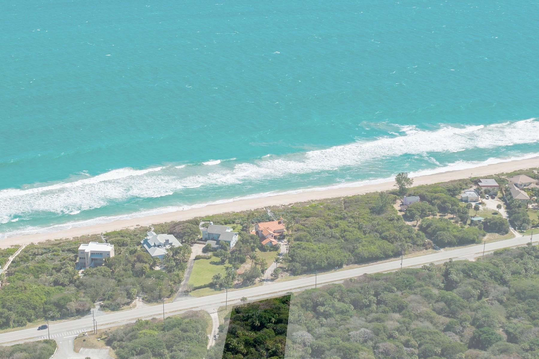 토지 용 매매 에 8930 Highway A1A Melbourne Beach, 플로리다, 32951 미국