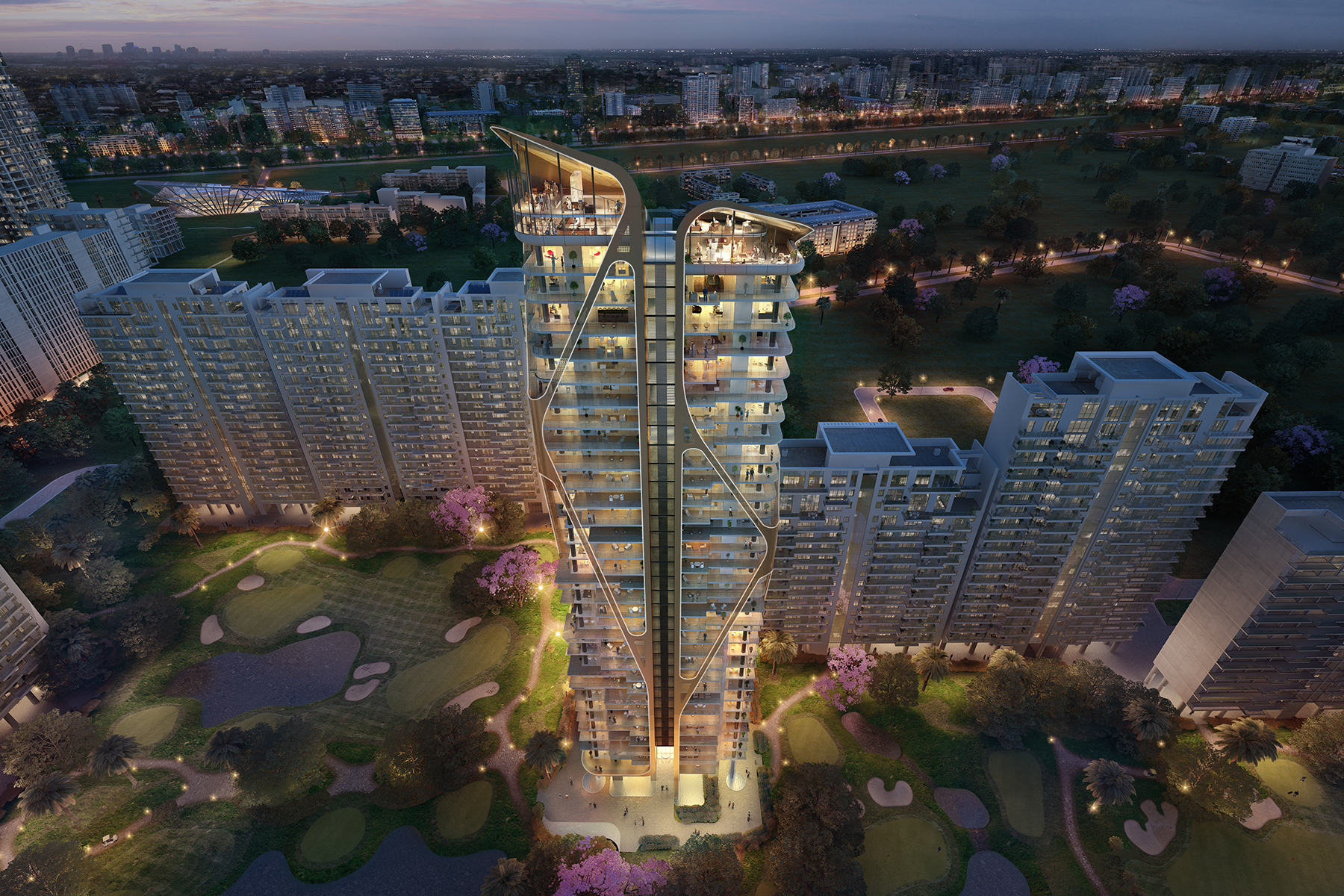 Apartment for Sale at M3M ST. ANDREWS Sector 65 Golf Course Extension Road Gurgaon, Haryana, 121001 India