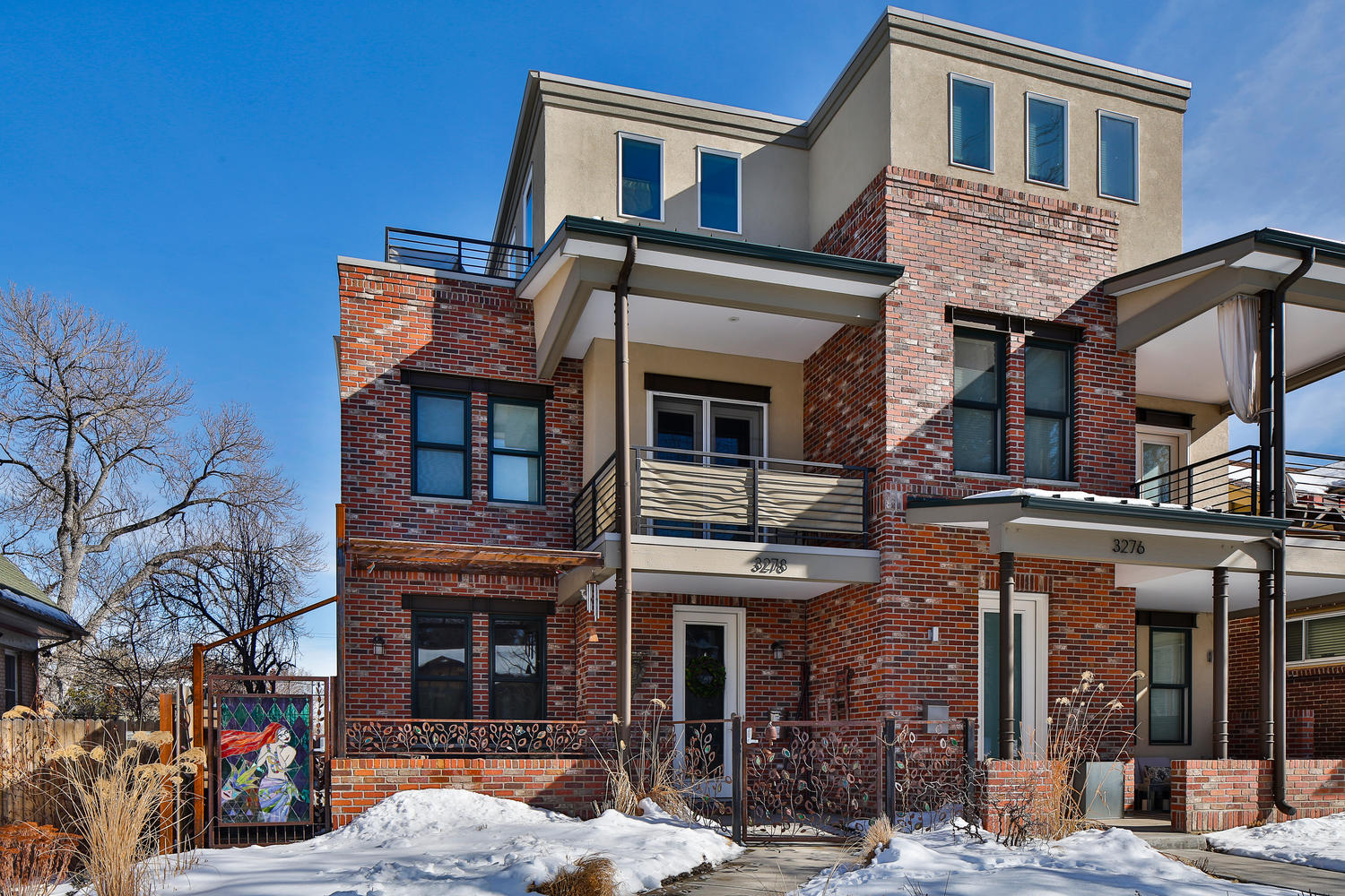 Single Family Home for Sale at Beautifully appointed Highlands townhome! 3278 Raleigh Street Denver, Colorado, 80212 United States