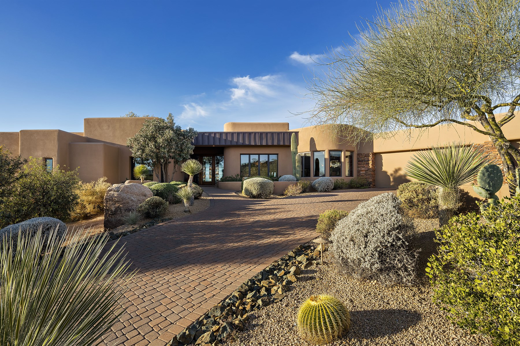 sales property at Premiere Apache Peak location in the heart of the private Desert Mountain Club