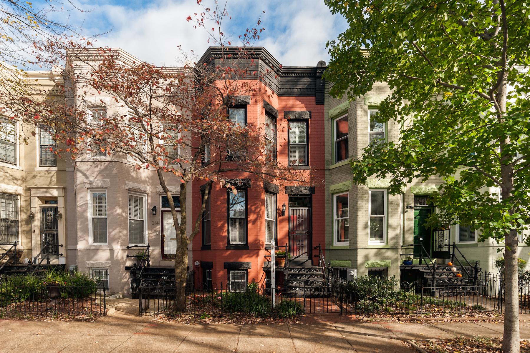 Stadthaus für Verkauf beim Capitol Hill, Washington DC 216 10th Street Se Capitol Hill, Washington, District Of Columbia 20003 Vereinigte Staaten