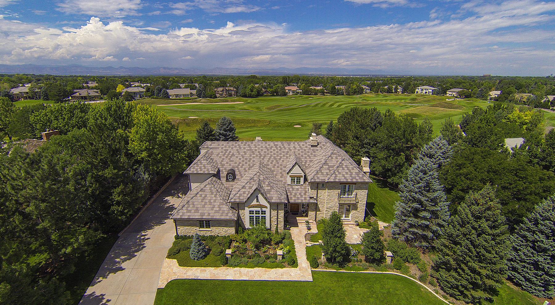 一戸建て のために 売買 アット 25 Glenmoor Drive Cherry Hills Village, コロラド 80113 アメリカ合衆国