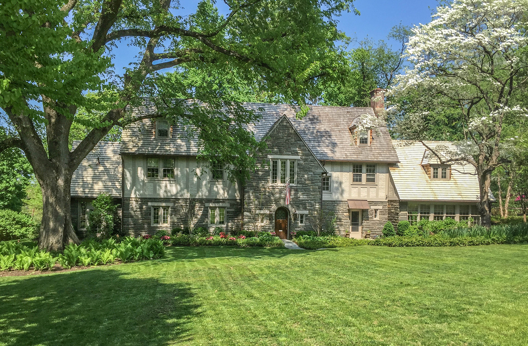 sales property at English Tudor in Chestnut Hill