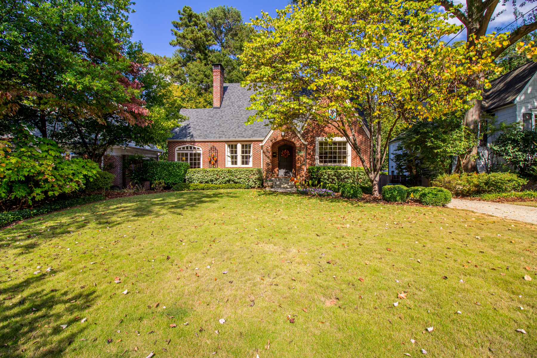 sales property at Spectacular Brick Tudor With Three Finished Levels