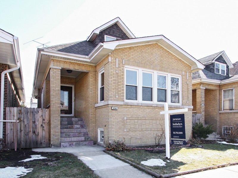 Single Family Home for Sale at Quality Brick Bungalow 6545 N Fairfield Avenue Chicago, Illinois 60645 United States