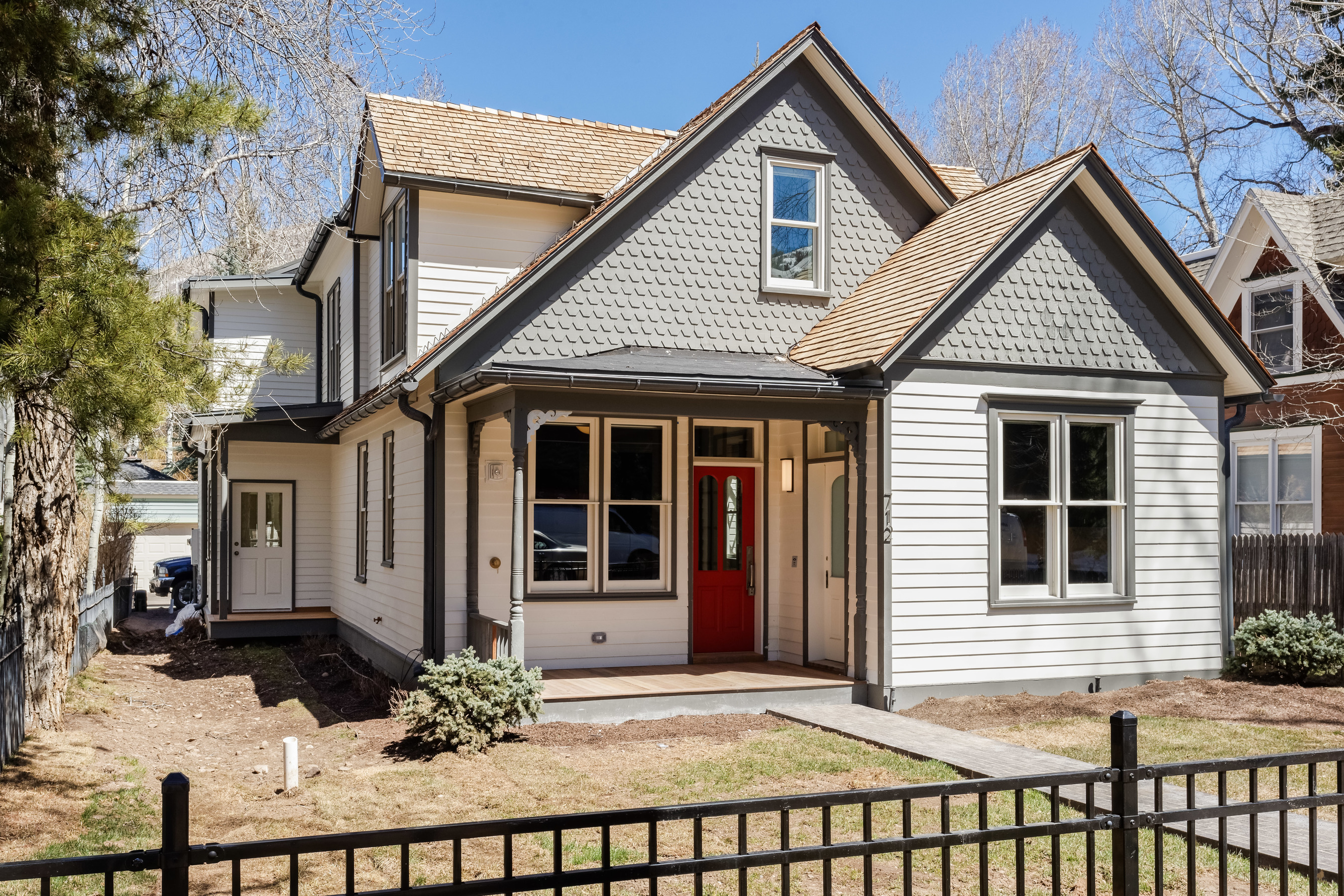 Single Family Home for Sale at Contemporary West End Retreat 712 West Francis Street West End, Aspen, Colorado, 81611 United States