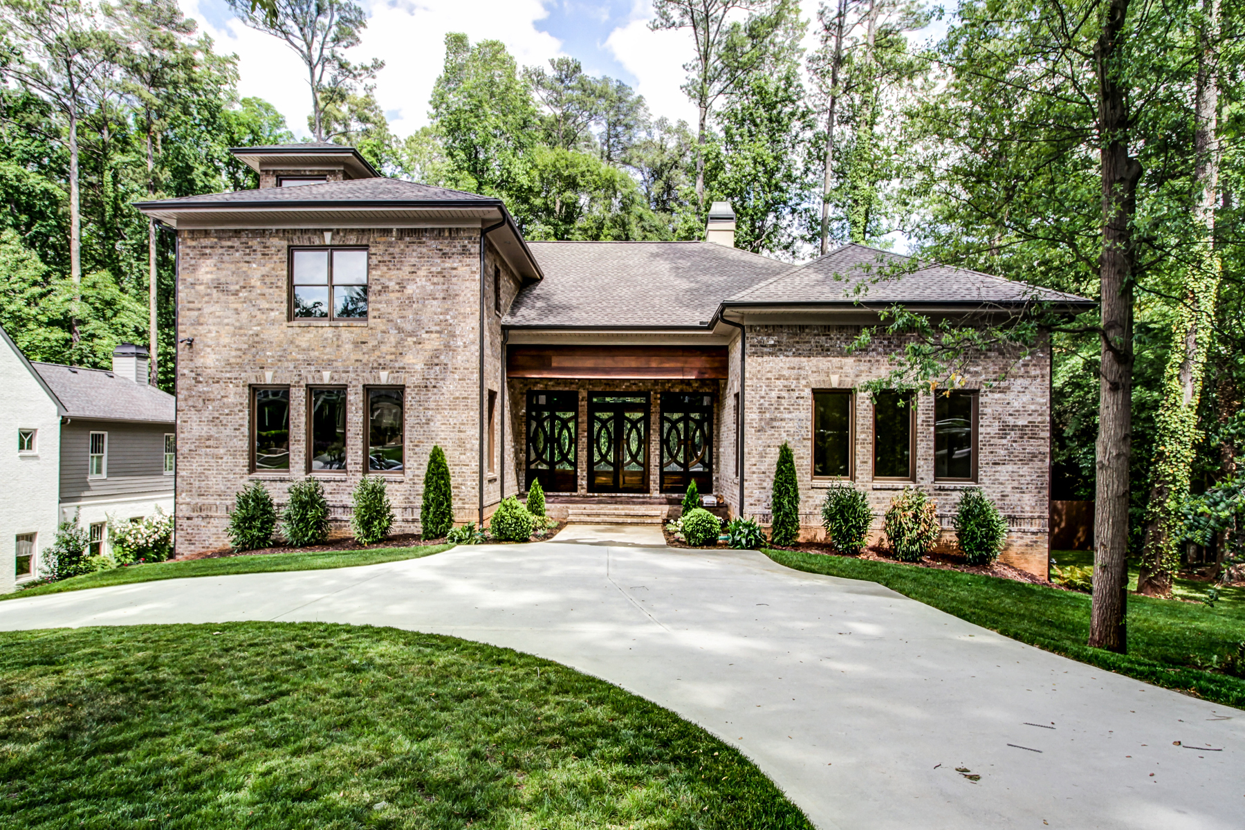 Single Family Home for Active at Sprawling New Home In Morningside With Resort-style Backyard 1801 Wellbourne Drive Atlanta, Georgia 30324 United States