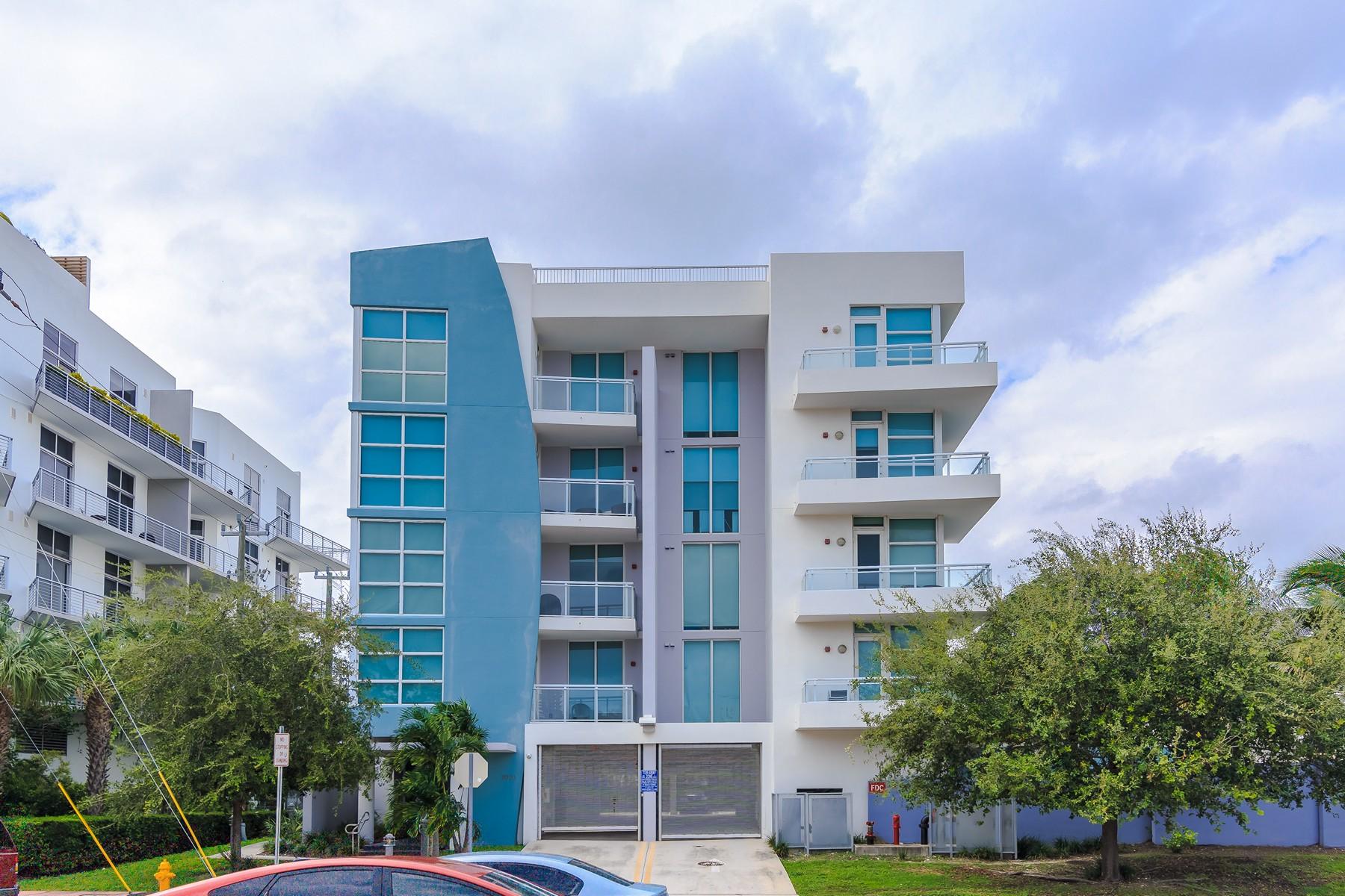 콘도미니엄 용 매매 에 2020 Prairie Ave 2020 Prairie Ave #301 Miami Beach, 플로리다 33139 미국