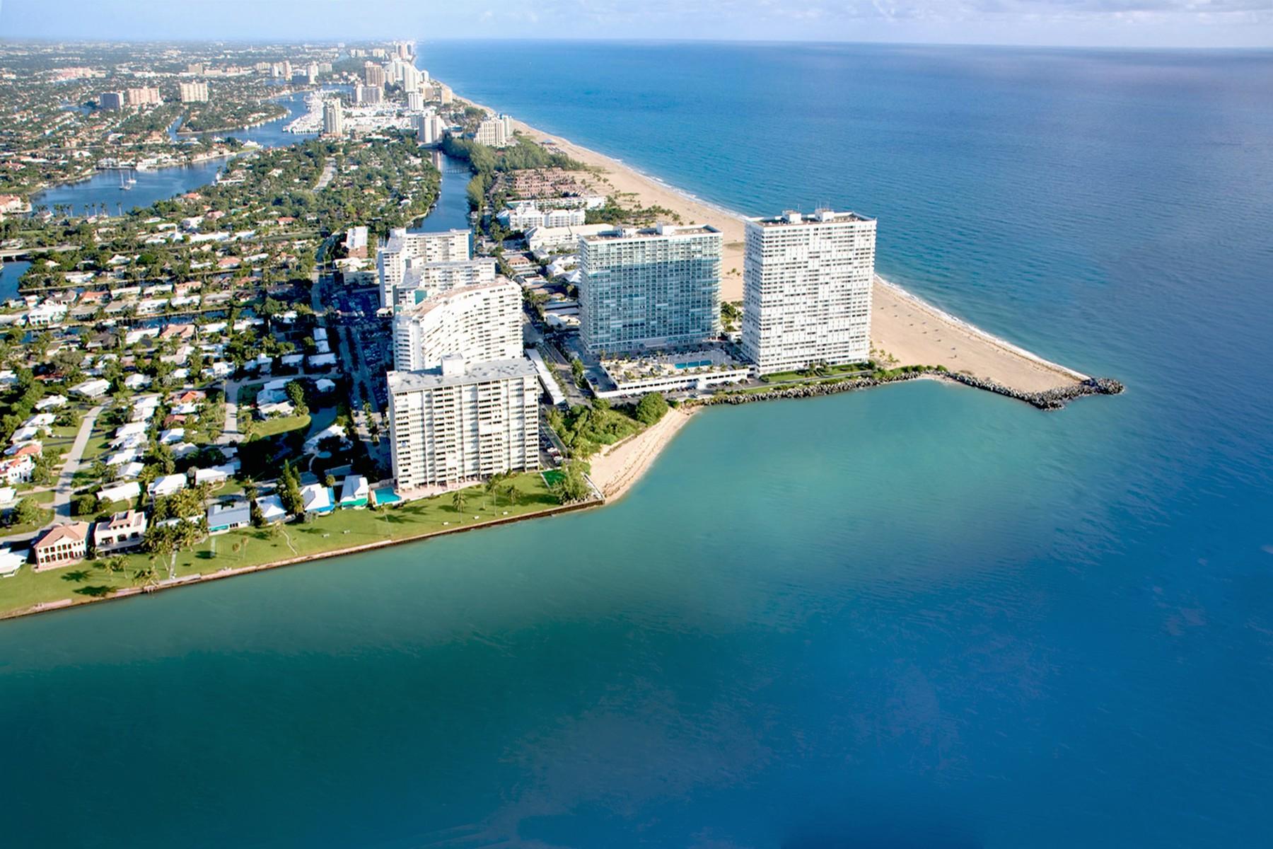 独户住宅 为 销售 在 2200 S. Ocean Lane Unit# 2803 劳德代尔堡, 佛罗里达州 33316 美国