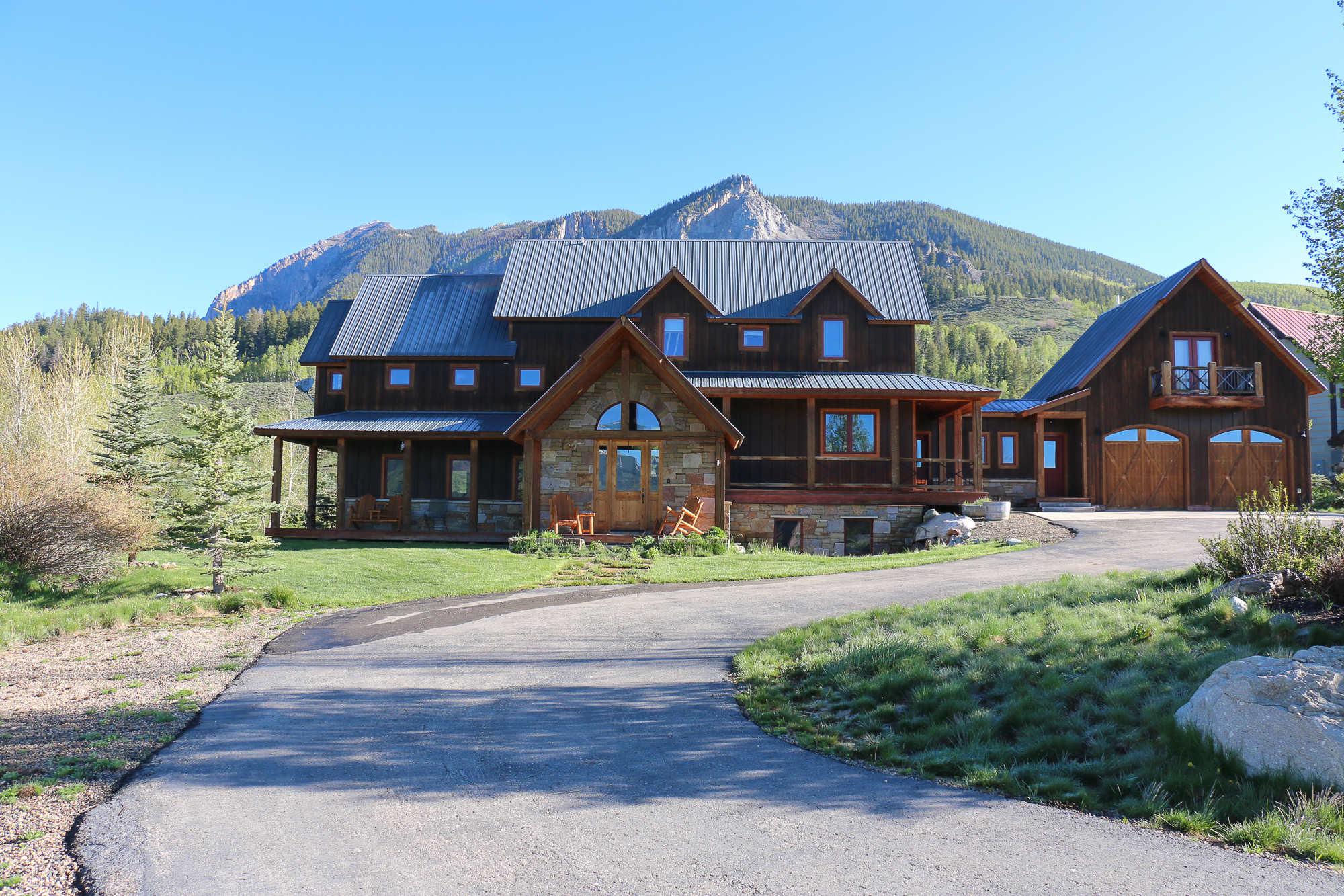 Single Family Home for Sale at Exquisite Craftsmanship 36 Buckhorn Way Crested Butte, Colorado, 81224 United States