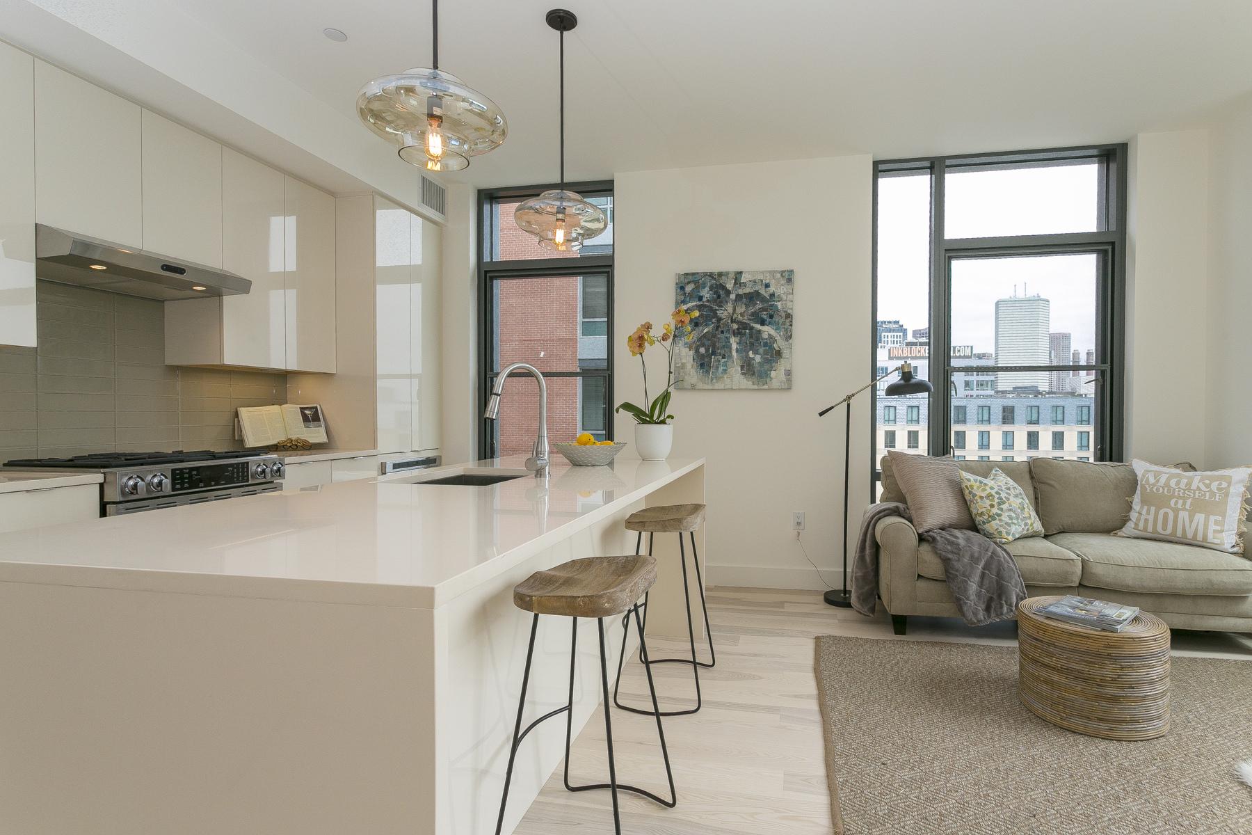 Condominium for Sale at Sepia At Ink Block 32 Traveler Street Unit 601 South End, Boston, Massachusetts, 02118 United States