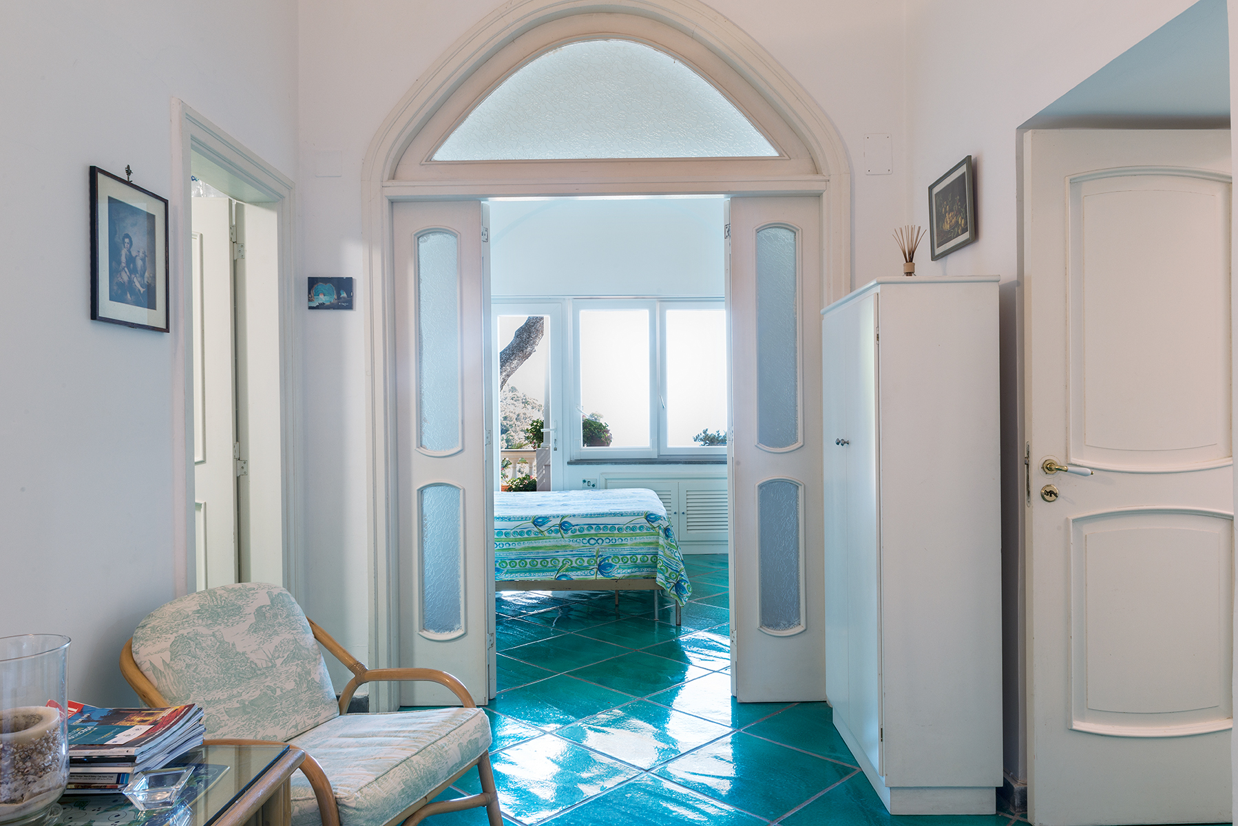 Additional photo for property listing at Beautiful villa just steps from the center of Capri Capri, Naples Italy
