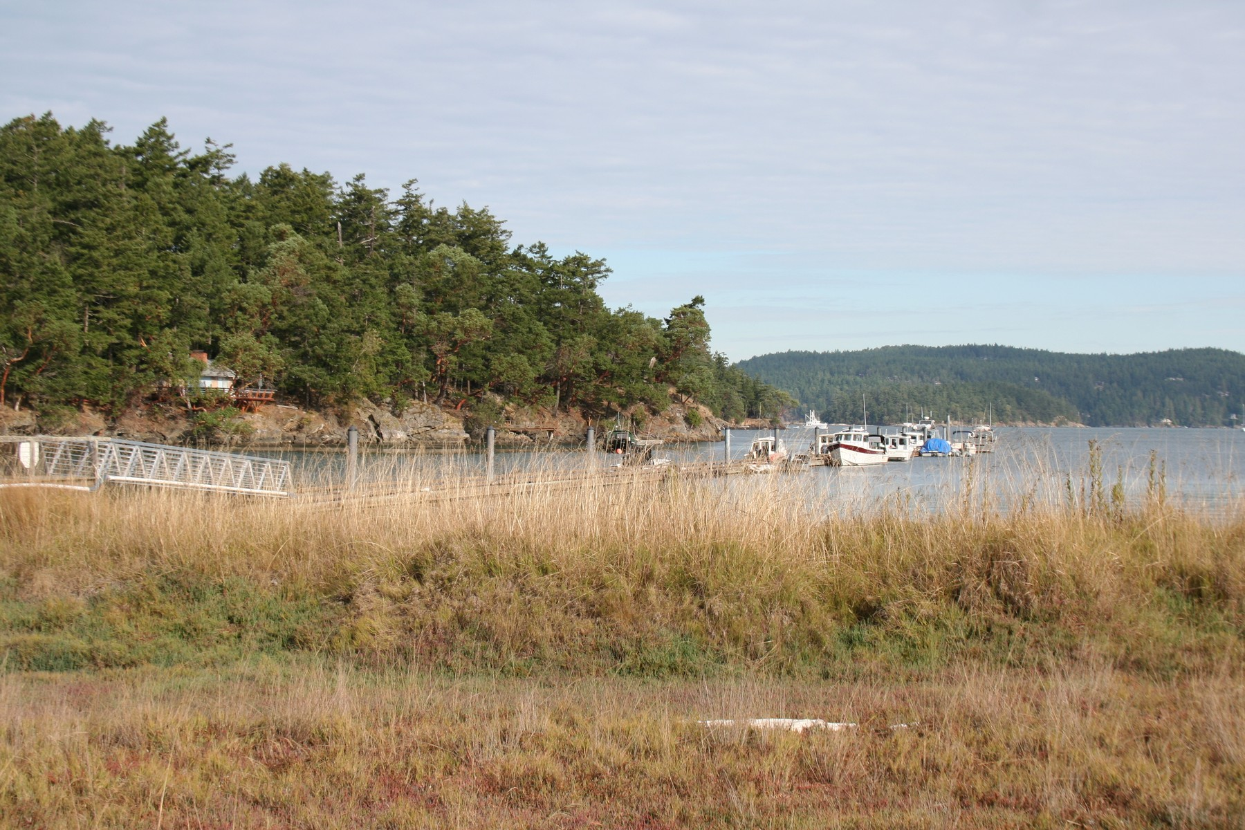 Земля для того Продажа на Great Lot Overlooking Neck Point Marina Lot 25 Sylvan Circle Shaw Island, Вашингтон, 98286 Соединенные Штаты