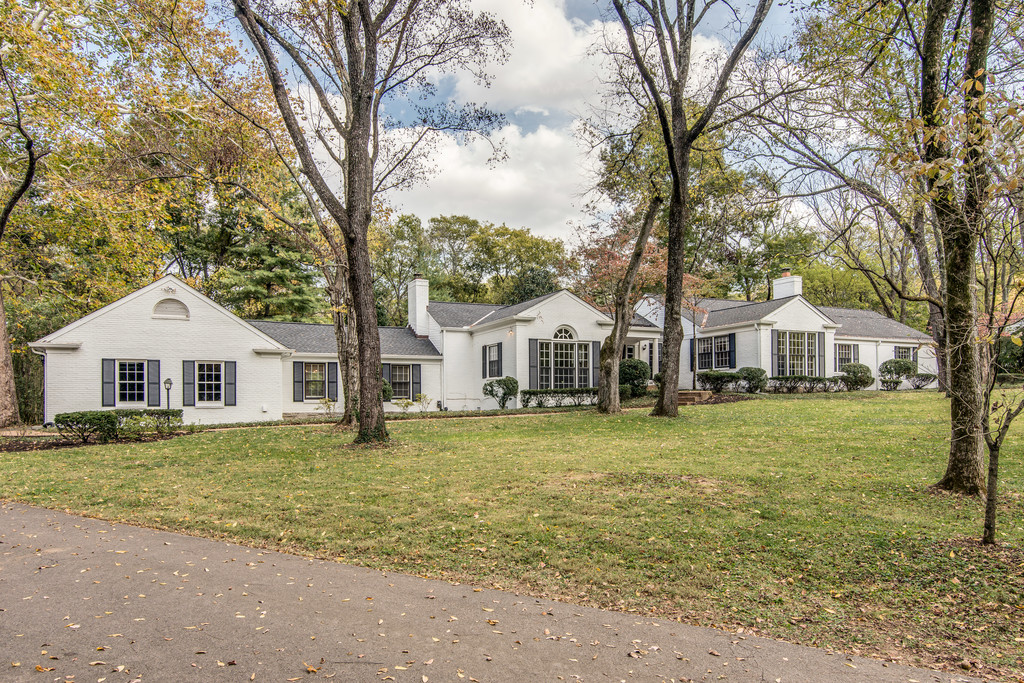 sales property at Renovataed Historic Belle Meade Home