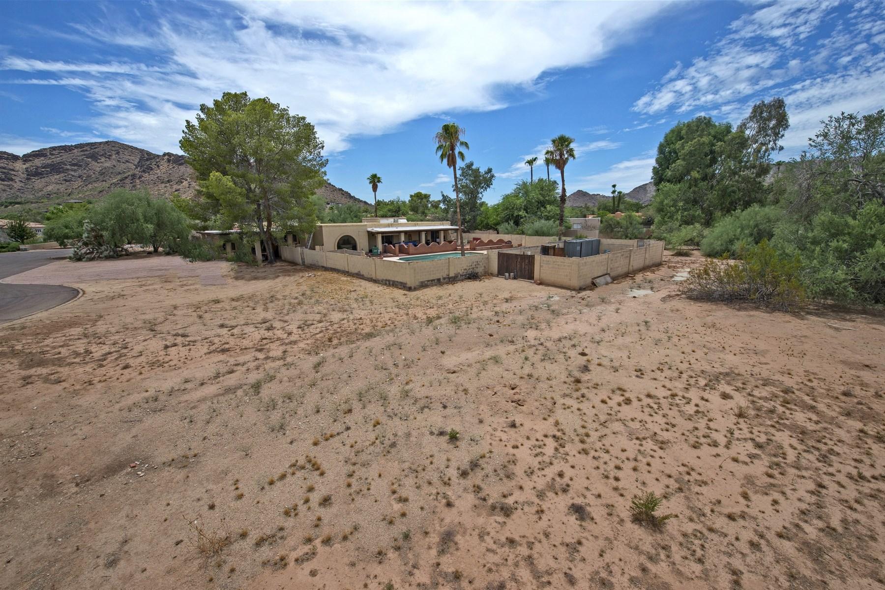 Terreno por un Venta en 1.06 acre lot surrounded by multi-million dollar homes. 5530 E ORCHID LN 7 Paradise Valley, Arizona 85253 Estados Unidos