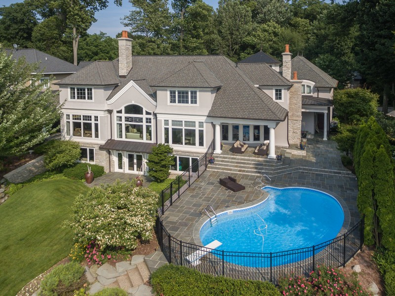 Single Family Home for Sale at Luxurious Lakefront Home On Lake Macatawa 839 Barkentine Drive Holland, Michigan 49424 United States