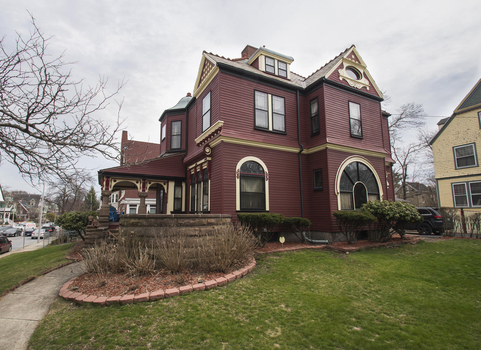 sales property at Queen Anne Romanesque Revival Home