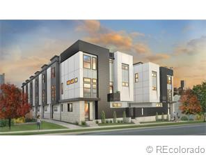 Condominium for Sale at Zuni Townhome #1 3016 Zuni Street #1 Denver, Colorado 80211 United States