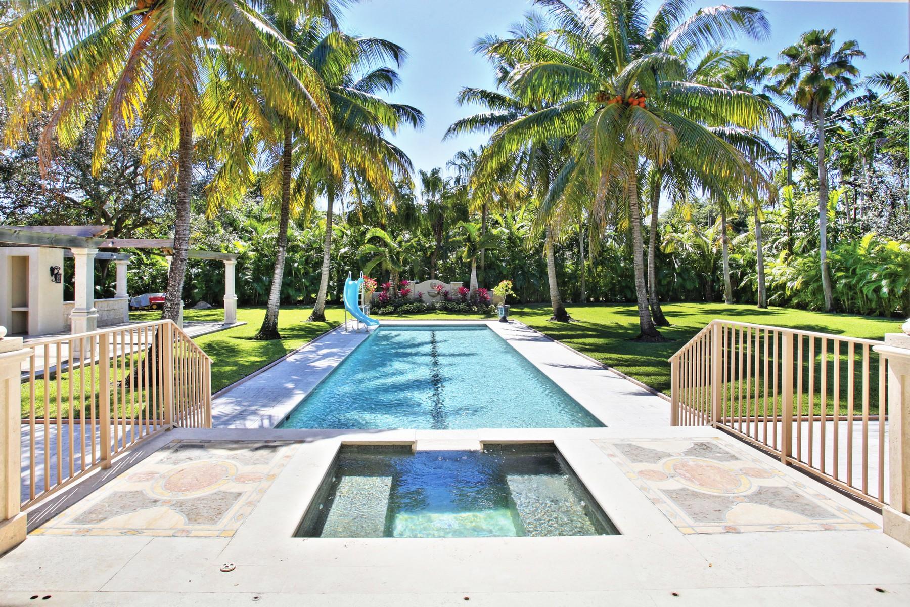 Maison unifamiliale pour l Vente à 6490 SW 92 St 6490 Sw 92nd St Pinecrest, Florida, 33156 États-Unis