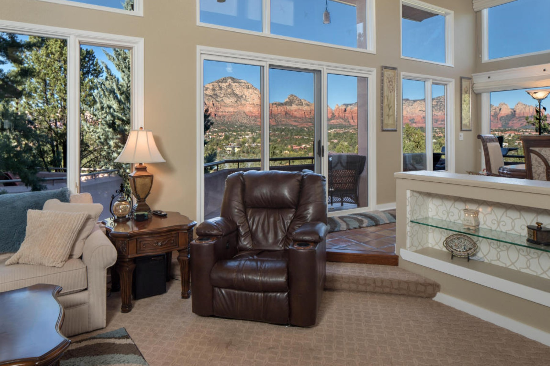 Single Family Home for Sale at Stunning three bedroom Sedona home 240 Racquet Rd Sedona, Arizona, 86336 United States