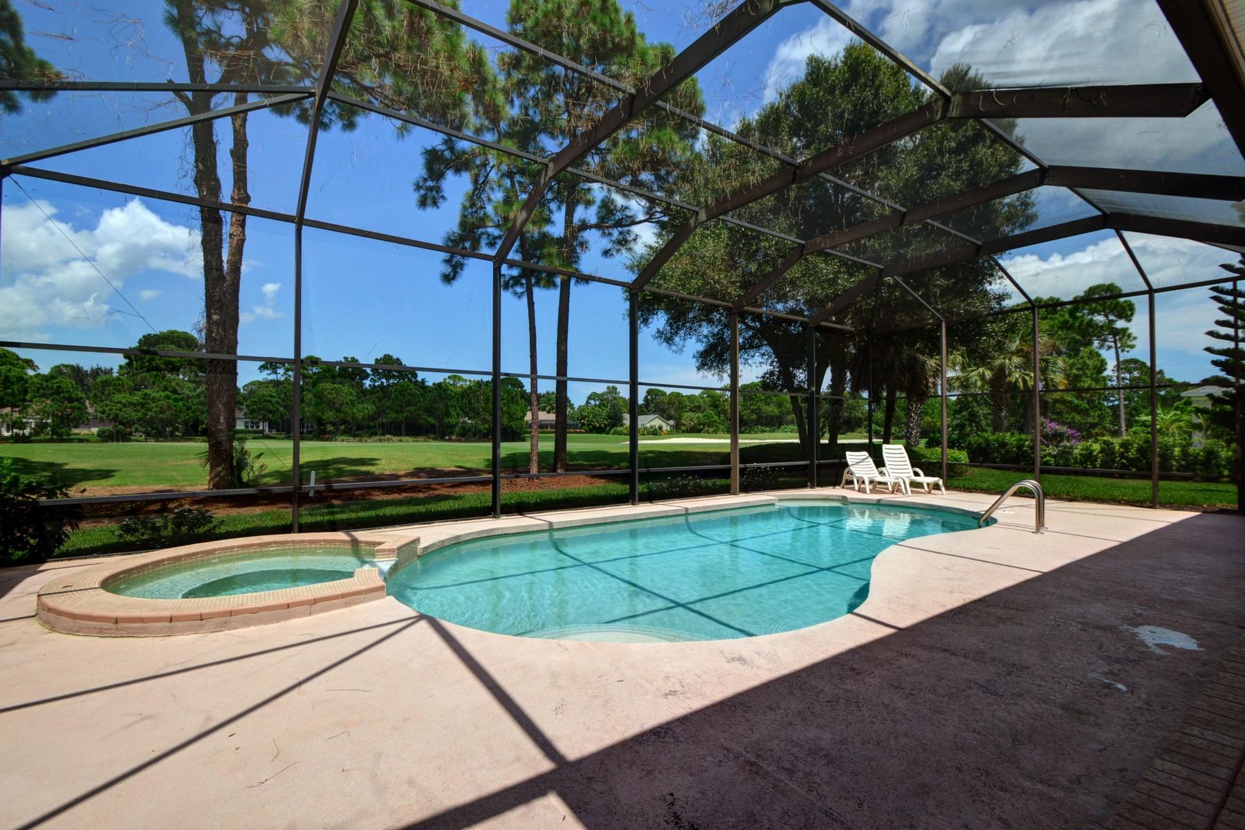 Villa per Vendita alle ore Spectacular home on golf course with lake views 960 Wood Haven Lane SW Vero Beach, Florida 32962 Stati Uniti