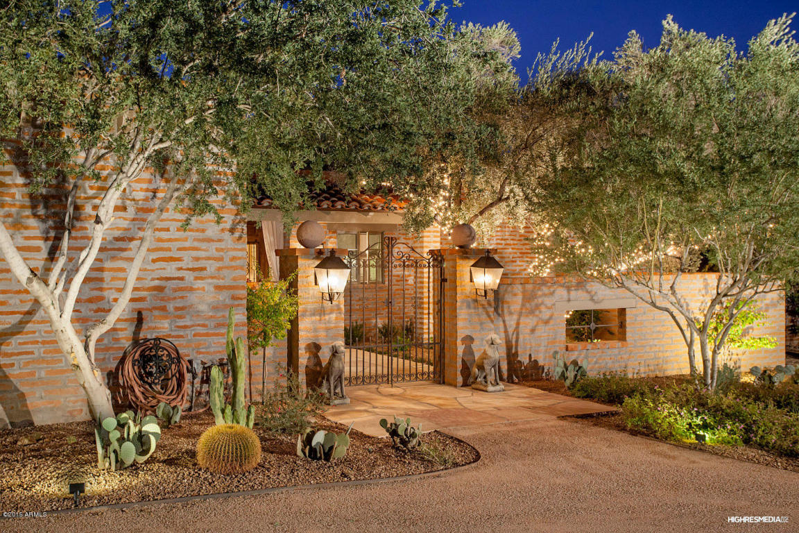 Single Family Home for Sale at Timeless elegance with captivating views. 6825 N HILLSIDE DR Paradise Valley, Arizona 85253 United States