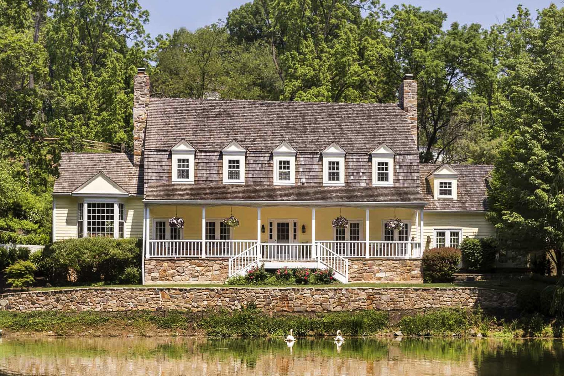 Частный односемейный дом для того Продажа на Gladwyne Estate 1450 Soapstone Road Gladwyne, Пенсильвания, 19035 Соединенные Штаты