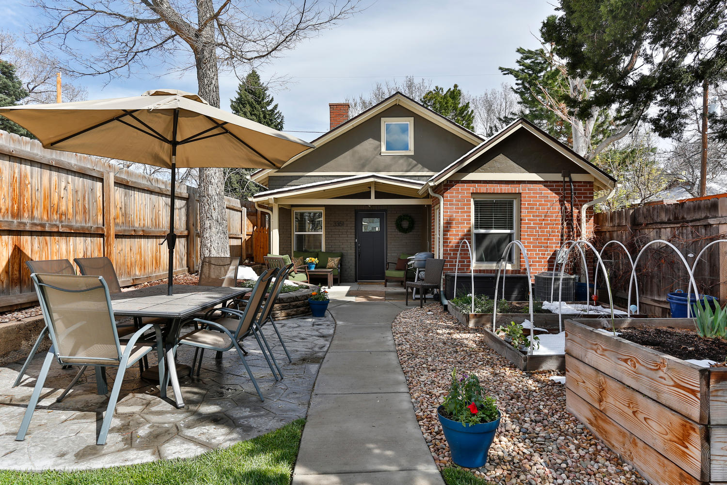 Single Family Home for Sale at Gorgeous renovated Bungalow with old charm and all of the modern updates! 3351 West Moncrieff Place Denver, Colorado, 80211 United States