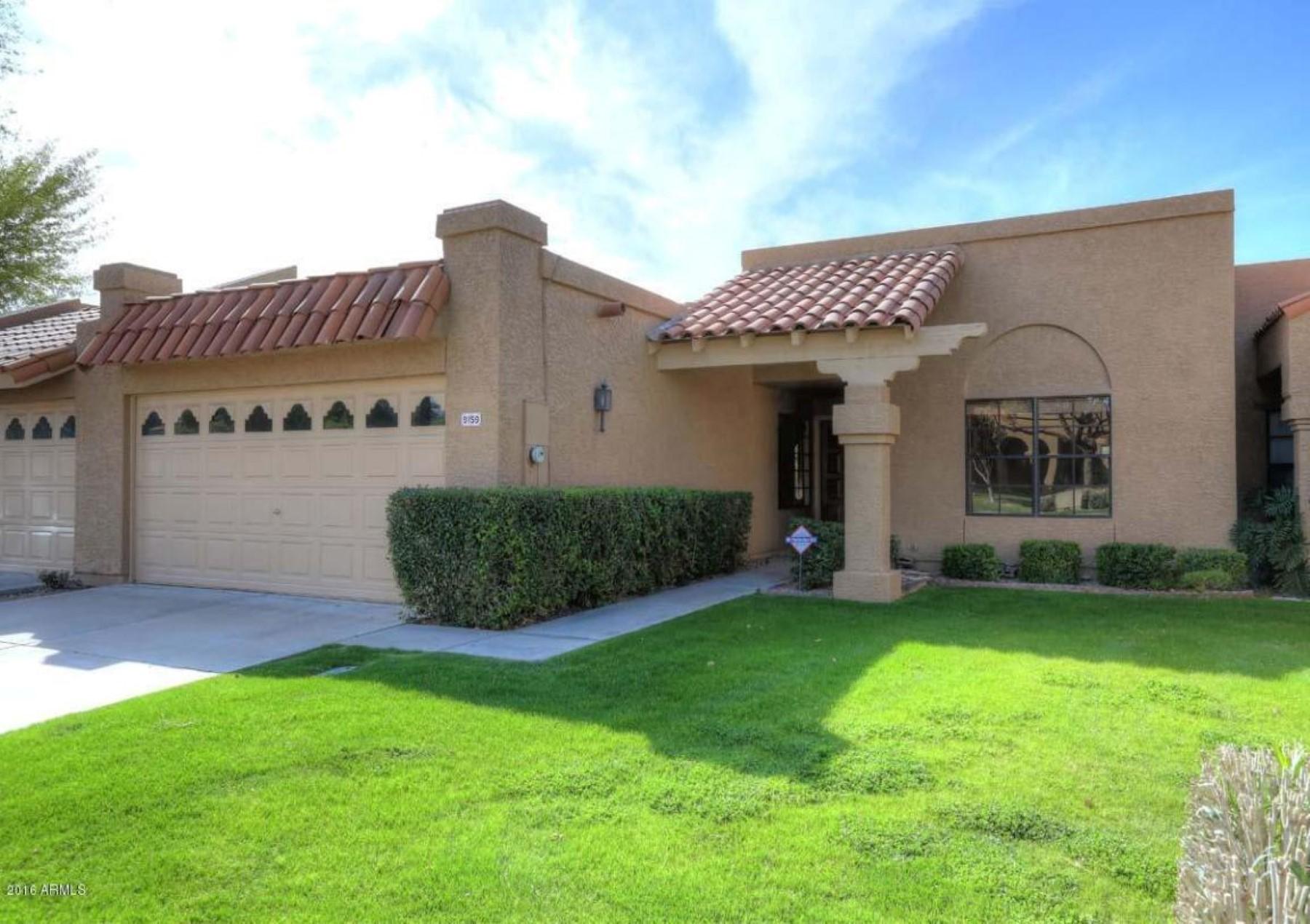 多棟聯建住宅 為 出售 在 Spacious single story townhouse 9159 E Winchcomb Dr E Scottsdale, 亞利桑那州, 85260 美國
