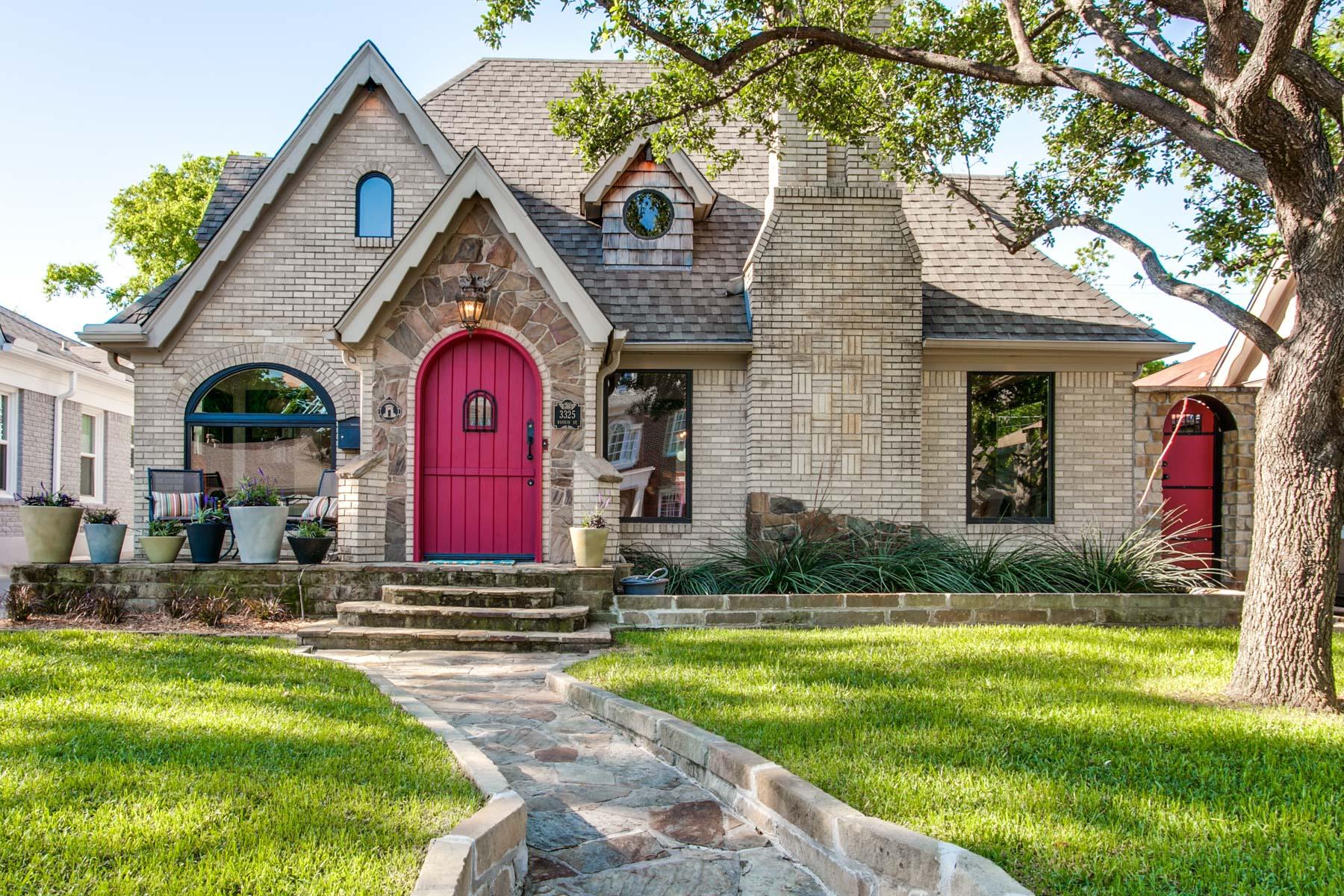 獨棟家庭住宅 為 出售 在 University Park Tudor with Modern Accents Dallas, 德克薩斯州, 75205 美國