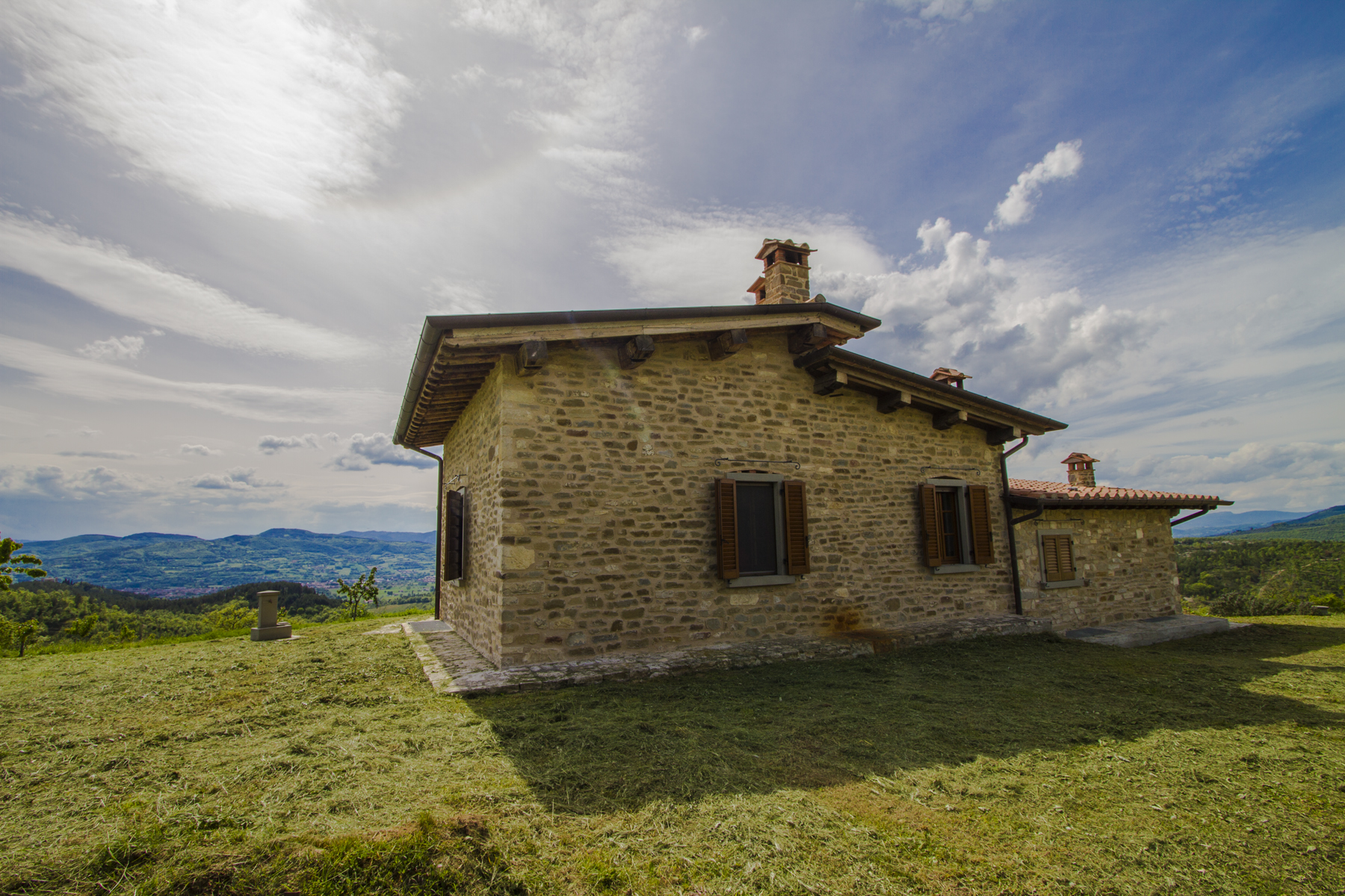 Single Family Home for Sale at Umbrian style villa with magnificent views Citta Di Castello, Italy