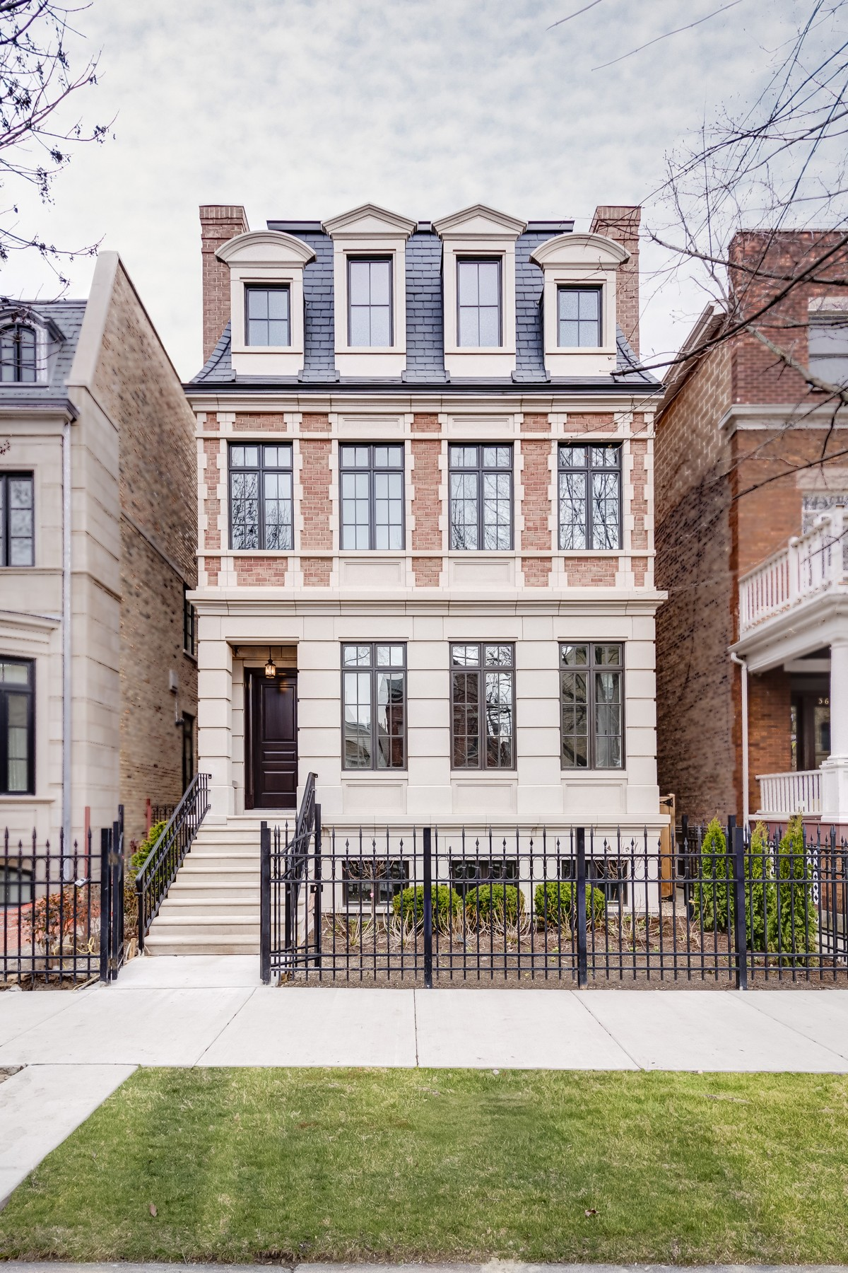 Single Family Home for Sale at A New Bloomfield Development 3643 N Lakewood Avenue Lakeview, Chicago, Illinois, 60613 United States