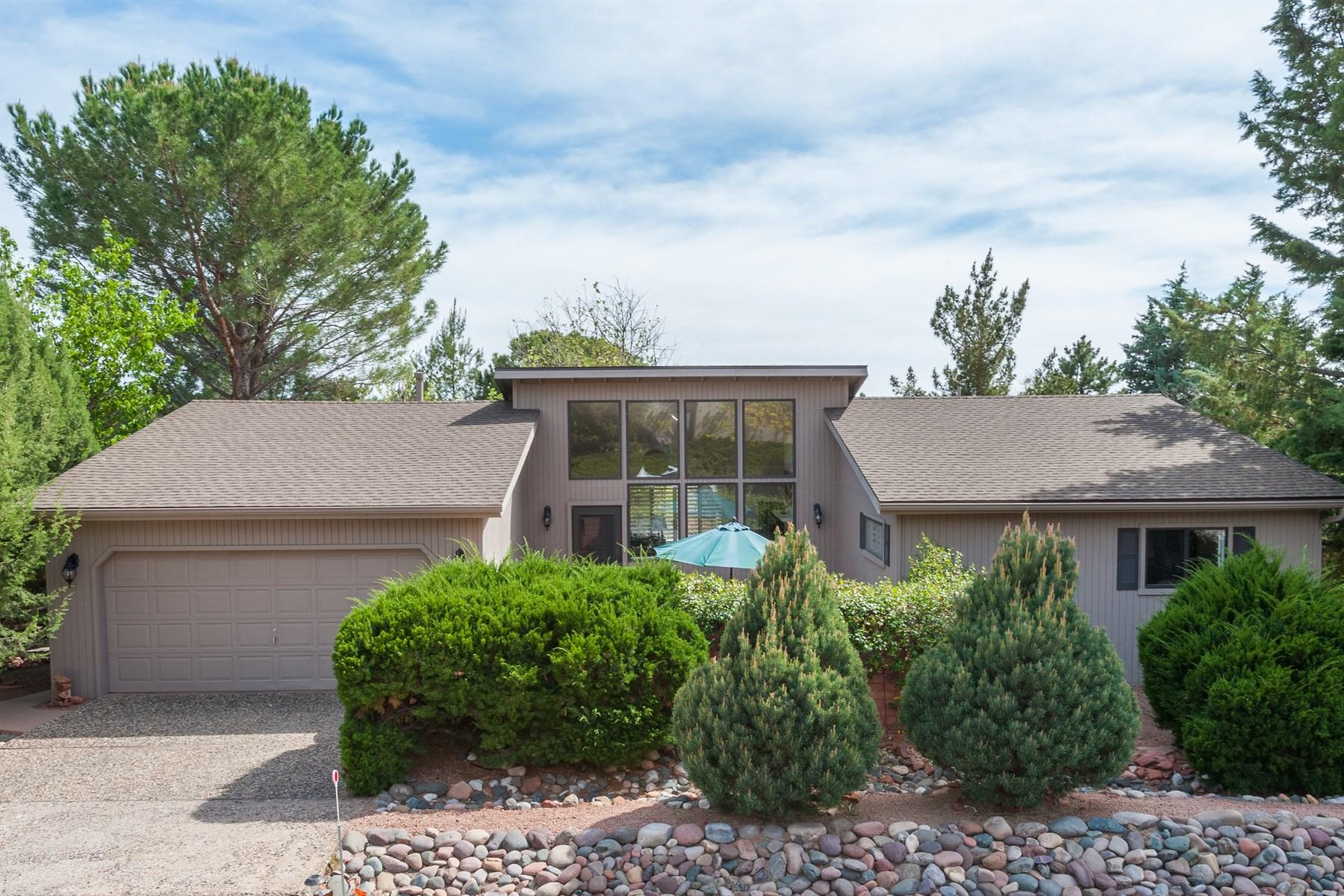 一戸建て のために 売買 アット Delightful and beautifully appointed home with breathtaking red rock views 2255 Corral Rd Sedona, アリゾナ, 86336 アメリカ合衆国