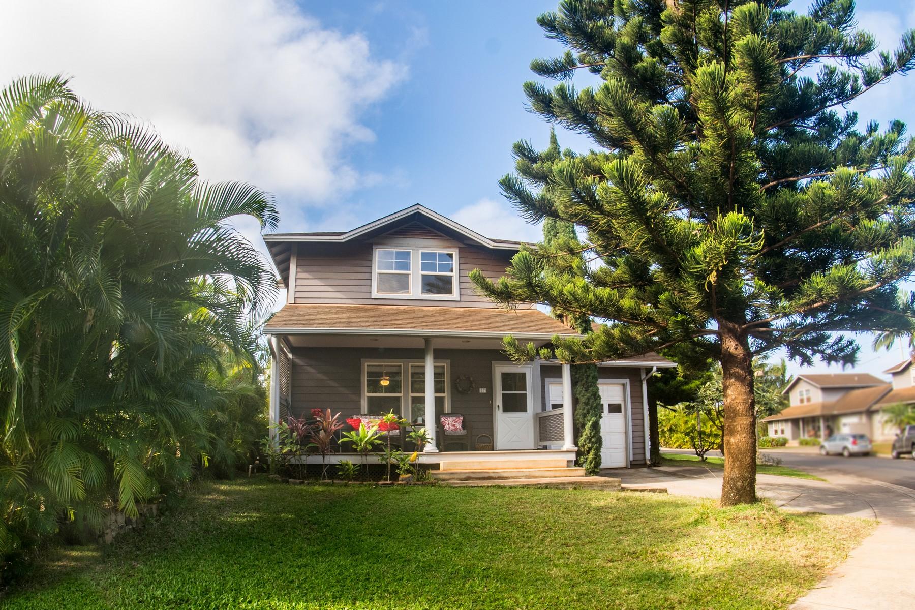Maison unifamiliale pour l Vente à LOCATION! Charming 3 Bed, 2.5 Bath Single Family Home 17 Hoaka Place Lahaina, Hawaii, 96761 États-Unis