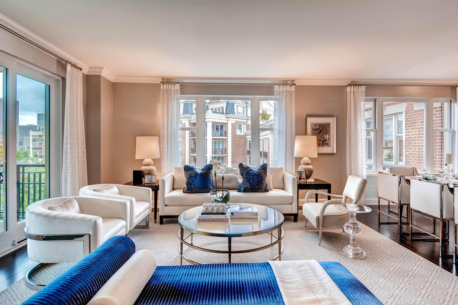 Copropriété pour l Vente à The Ritz-Carlton Residences 801 Key Highway #450 Baltimore, Maryland, 21230 États-Unis