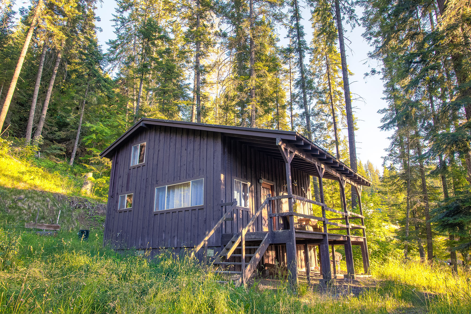 sales property at Rustic Secondary Waterfront Cabin