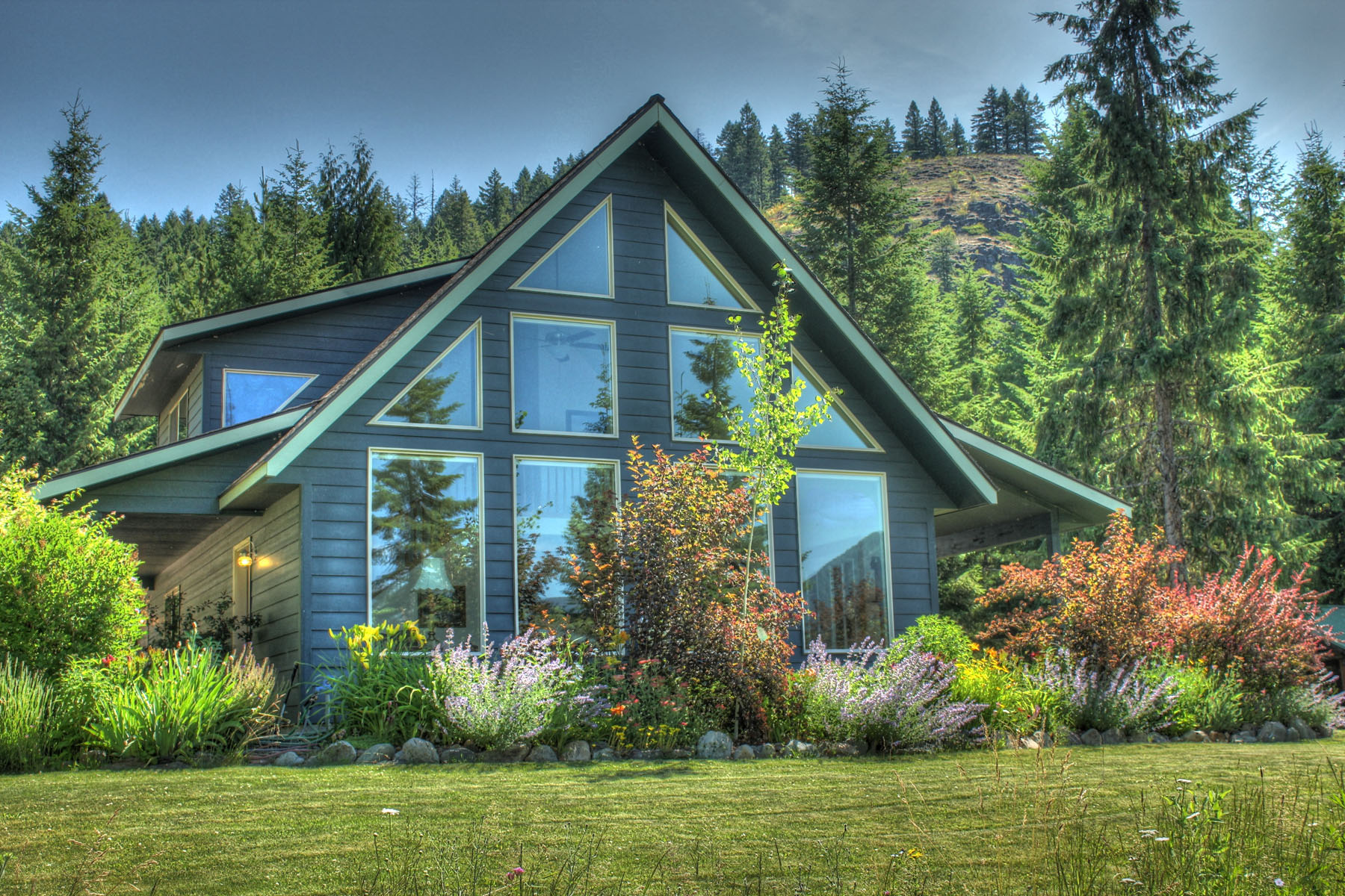 sales property at Beautiful custom home on 1.63 acres